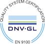 Die E. Krieg GmbH ist Zertifiziert nach EN 9100