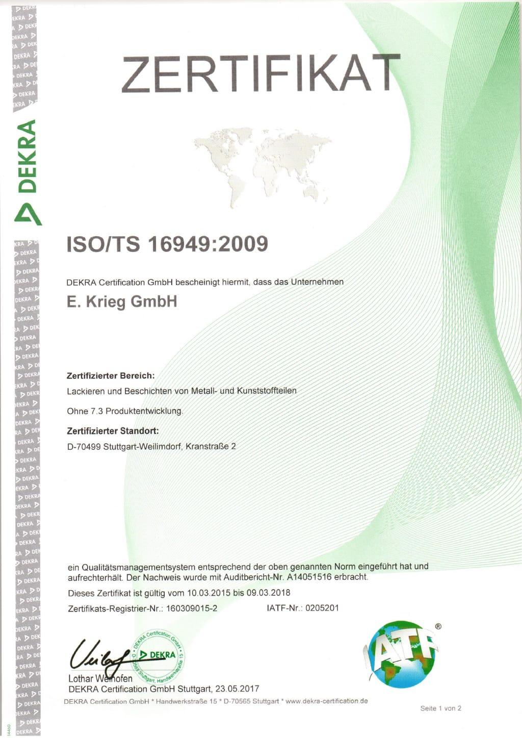 Entfettung von der eieg gmbh certification certification 1betcityfo Gallery